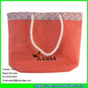 China LUDA 2016 new designer summer paper straw handbag on sale