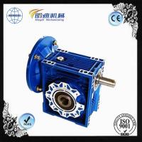 NMRV50 Shaft Reducer Gear Transmission Box  With Motro 0.12-15kw Manufactures