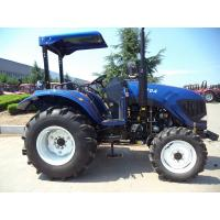 China 350L Fuel Tank Small Farm Tractors Small Four Wheel Drive Tractors With The Dump Trailer on sale