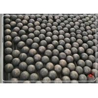China Ball Mill Forged Grinding Balls , Grinding Media Ball For Different Size on sale