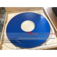 D915mm Resin Diamond Grinding Wheel For Thermal Spraying Alloy Materials -julia@moresuperhard.com Manufactures