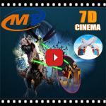 Motion flight simulator 5D cinema 7D simulator theater cabin sale