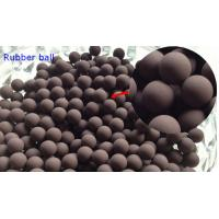 20MM Valves / Bearings Silicone Rubber Ball 70 Shore High Temprature Resistant Manufactures