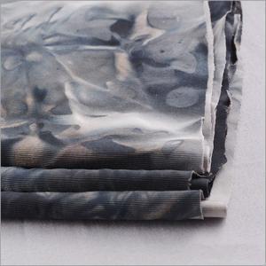 China Rusha Textile  92% Polyester 8% Spandex Tie-dye Jersey Stretch Elastic Bandhnu Fabric on sale