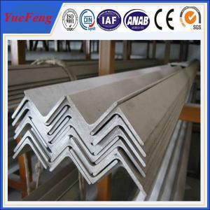 6063 v slot aluminum profile / l shaped aluminum extrusion manufacturer / aluminum l angle Manufactures
