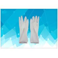 China Disposable Medical Gloves Tear Resistance Sterile Surgical Gloves , Medical Latex Gloves CE Approved on sale
