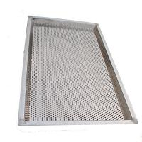 Customized Perforated Baking Trays For Drying Herb - Medicine , 460 X660 Mm Size Manufactures