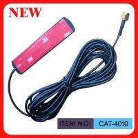 3DBI Gain Mini Sticker Car GSM Antenna With 3 Meters RG174 Cable Manufactures