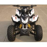 Mid Size Four Wheel ATV 110cc Fully Automatic With Reverse Front Double Drum Brake Manufactures