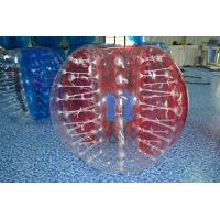 Kids / Adults TPU Inflatable Bubble Soccer Equipment Clear Or Colorful Manufactures