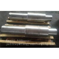 China Hot Forged Round Bar Rough Machined JIS DIN EN ASTM AISI Alloy Steel And Stainless Steel on sale