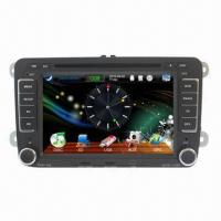 China 7-inch Car Multimedia Player for VW, USB Cable/SD Cards/iPod/Radio/TV/RDS/TMC/GPS/Bluetooth on sale