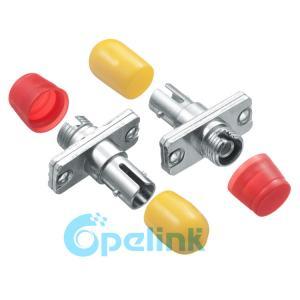 FC-ST Metal Simplex Singlemode Fiber Optic Adapter Simplex Body Style Manufactures