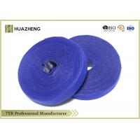 Recycle Strap Deep Blue Double Sided Hook And Loop Tape Self-gripping Manufactures