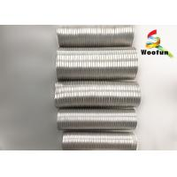Smoke Ventilation Aluminum Air Duct , Flame Proof Flexible Exhaust Duct Manufactures