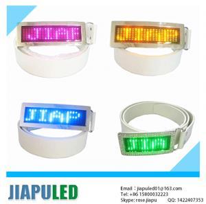 China Guangzhou wholesale programmable wholesale led belt buckles on sale