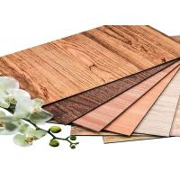 Wood Texture Antibacterial Board Interior Wall Cladding Sheet SGS Certification Manufactures