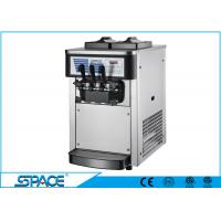 3 Flavors Commercial Countertop Soft Serve Ice Cream Machine 20 L/H Capacity Manufactures