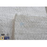 High Silica Fiberglass Needle Mat 25MM 130KG 1260℃ Thermal Insulation 96% Manufactures