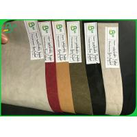 China Biodegradable Fabric Material Textured Washable Paper Roll 0.3mm - 0.8mm on sale