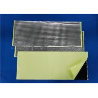 Quality Butyl Rubber Car Sound Deadening Material Heat Insulation Shock - Proof for sale