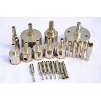 Electroplating Wet Diamond Drill Bit For Granite And Marble With Hex Shank Manufactures
