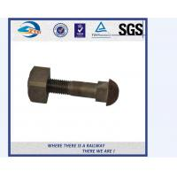 ZhongYue Railway Hex Bolts DIN931 Hex Bolt And Nut with DIN125A Class 12.9 DIN934 Half Thread Hex Bolts Manufactures