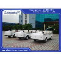 China Airport Electric Ambulance Car , 4 Seater Electric Car  One Bed Without Roof on sale