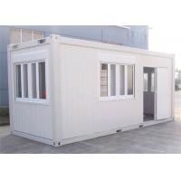 China Home Decoration Storage Container Houses With Steel Tube / Bending Plate on sale