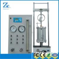 C002 Dial type Full Automatic 30KN Midium Pressure Triaxial test machine Manufactures