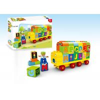 Toddler Role Play Learning Building Blocks / Kids Educational Toys W / Train Dump Truck Manufactures