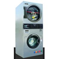 China OASIS 13KGS Chinese Best Quality Soft Mount Vended/Self Service/Coin operated Stack Washer Dryer/Combo washer dryer on sale