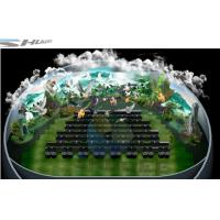 4D theater with ball screen, arc screen installed arc screen or ball screen Manufactures