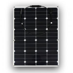 China PET flexible solar panel 60 Watt flexible solar panel 12v RV Flexible Solar Panels on sale