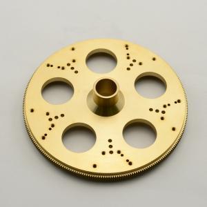 China Customize brass CNC Machining Parts precision brass machining parts with Clear anodized on sale