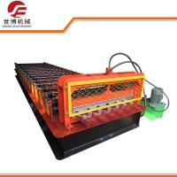 Automatic Hydraulic Cutting Roof Tile Forming Machine With Different Rolls Manufactures