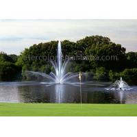 Stainless Steel Fountain Jets Floating Water Fountain For Pond / Tank Decoration Manufactures