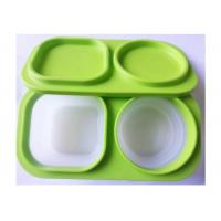 Soft Feeling Silicone Lunch Containers Box Lightweight 3000 Times' Using Lifelong Manufactures