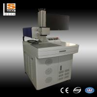 Wood Plastic Leather Co2 Laser Marking Machine / Portable Laser Marker Manufactures