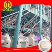 Full automatic 100 ton per day wheat flour mill wheat flour making machine Manufactures