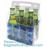 PVC Ice Bag, Wine Beer Gift Bags, Wine Bag, Drink Ice Bags, Portable Wine Bags Gel Ice Pack PVC Wine Cooler Bag With Han Manufactures