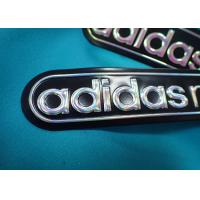 Customized Rubber Patch With Pvc Logo / Embossed 3d Iron On Cloth Patches Manufactures