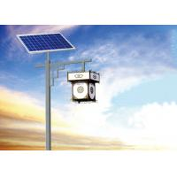 Solar Powered Outdoor Lamp Post Lights , Solar Powered Pole Lights High Performance Manufactures