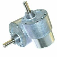 Sanitary Ware DC Small Worm Gear Motor 12V / 37mm Diameter Customized Voltage Range Manufactures