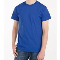 Blank Plain Round Neck Mens Soft Cotton T Shirts With Custom Logo Manufactures
