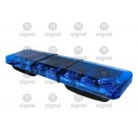 Super Thin Blue Police Light Bars High Brightness Low Power Consumption Long Working Life Manufactures