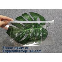 Pouch Slider Plastic Zipper Folder PVC Clear Cosmetic Bag Pencil Pen Packaging Bag,Pvc Ziplock Bag For File And Document Manufactures