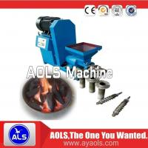 China factory supply Biomass wood sawdust briquette press Screw extruder machine on sale