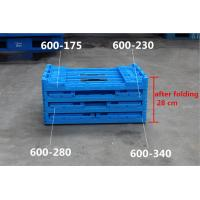 600*400*340  Mesh type  Food grade Plastic Returnable  Collapsible Folding Crates Manufactures