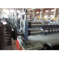 Steel Concrete Sheet Step Tile Roll Forming Machine Zinc Coating Colored Manufactures